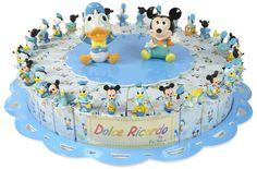 Torta bomboniera 30 fette Topolino e Paperino Walt Disney confetti a scelta inclusi #torta #bomboniere #topolino #paperino #disney