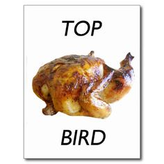 Top Bird Post Card