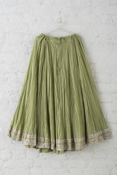 Cotton Lehenga from Goodearth. Lehenga Designs, Modern Fashion Looks, Long Skirts Online, Cotton Lehenga, Cotton Skirt, Indian Dresses, Indian Wear, Stylish Outfits, Indian Fashion