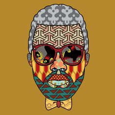 Dribbble - Mr. West by Arjun Mahanti