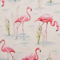 Hertex Fabrics is s fabric supplier of fabrics for upholstery and interior design Flamingo Wallpaper, Wallpaper Decor, Home Wallpaper, Wallpaper Ideas, Fabric Patterns, Print Patterns, Hertex Fabrics, Beautiful Beach Houses, Painting Carpet