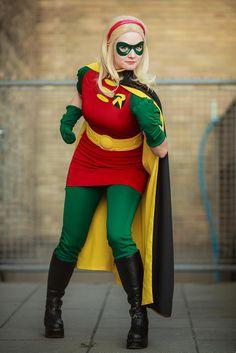 Geek Group Network: [Cosplay] Lady Robin (Stephanie Brown)                                                                                                                                                                                 More