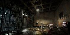 prison dark horror alone concept wallpapers creepy prisons abandoned computer backgrounds evil halloween creativeuncut
