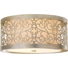 Now THAT's no-fuss, gorgeous ceiling lighting. $225