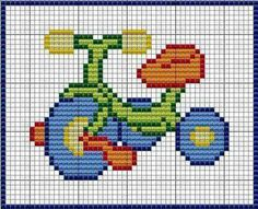 Boat cross stitch pattern sailing counted by ClimbingGoatDesigns Easy Cross Stitch Patterns, Cross Stitch For Kids, Simple Cross Stitch, Cross Stitch Baby, Cross Stitch Designs, Cross Stitching, Cross Stitch Embroidery, Hand Embroidery, Beading Patterns