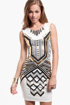 Akila Dress $33 at www.tobi.com    How art deco of you.