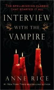 Interview with the Vampire by Anne Rice.her Vampire Chronicles are so interesting and brilliant. If you love vampire novels these are the best of them that pretty much started it all. I Love Books, Great Books, Books To Read, My Books, Amazing Books, Anne Rice Books, Lestat And Louis, The Vampire Chronicles, Interview With The Vampire