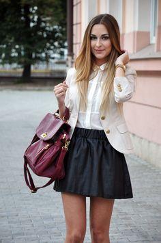 Emilie Nereng - leather skirt | Emilie Nereng | Pinterest | More ...