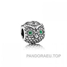 Graduation Owl with Scroll - Sterling Silver Charm Bracelet Bead aIYkl