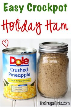 Easy Crockpot Ham Recipe! ~ from TheFrugalGirls.com {this easy Slow Cooker Recipe will have your holiday ham turning out delicious and SO juicy!} #slowcooker #recipes #thefrugalgirls