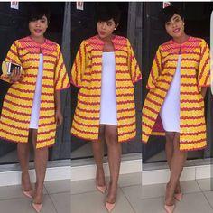 Eye-popping, uber-classy Ankara styles for fashionistas - Wedding Digest Naija African Print Dresses, African Print Fashion, Africa Fashion, African Fashion Dresses, African Dress, Ankara Fashion, African Prints, African Tops, African Women