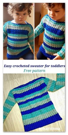 Easy crocheted sweater | ByKaterina