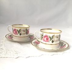 A personal favorite from my Etsy shop https://www.etsy.com/ca/listing/253202559/rose-tea-cups-royal-worchester-fine-bone