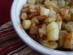 homemade breakfast potatoes with homemade seasoned salt