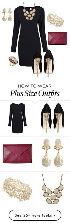 """Untitled #551"" by heidi-jo-jacob on Polyvore featuring Miss Selfridge, Giuseppe Zanotti, Phillips House, Ruby Rocks and Maison Margiela"