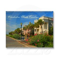 Charleston South Carolina 2015 Nature Landscape Wall Calendars This 2015 urban and nature landscape photography calendar has 14 photographs from Charleston, SC and the surrounding area. It has photo's from Rainbow Row in the spring, Ft. Sumter flags, Folly Beach sunrise and Morris Island Lighthouse at sunrise, the old live oak tree - Angel Oak and various other shots from around the city,