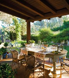 breakfast. #porches, #patios, #home, #design