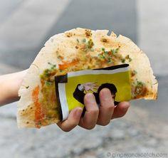 Rice Paper Tacos – A Popular Street Food in Saigon (aka Bánh Tráng Nuong)