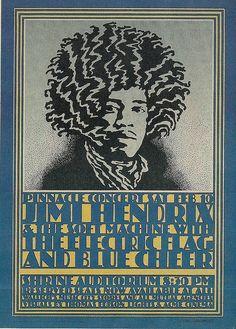 02/10/68 Jimi Hendrix/The Soft Machine/Electric Flag/Blue Cheer @ Shrine Auditorium, Los Angeles, CA