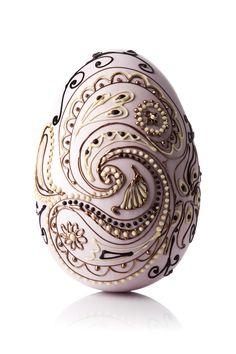 San Francisco Paisley Easter egg