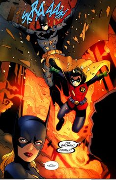 ✭ Batman, Robin and Batgirl