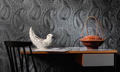 Elitis Perles - Embossed vinyl wallpaper with an aspect of beads