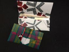 お店の紙袋から製作する紙雑貨