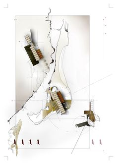 drift* - Univ. of South Florida School of Architecture. Masters Project Speculative Drawing. derekpirozzi.com