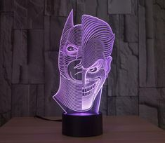 Lights & Lighting Shop For Cheap Dc&marvel Heroes Batman Joker Dragon Ball Transformers Atmosphere Lamp 3d Creative Night Lamp Home&fashion Desk Livingroom Lamp