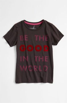 Peek 'Be the Good' Tee (Toddler, Little Girls & Big Girls) | Nordstrom