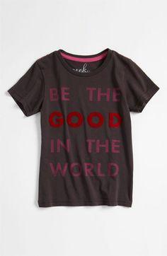 Peek 'Be the Good' Tee (Toddler, Little Girls & Big Girls)   Nordstrom