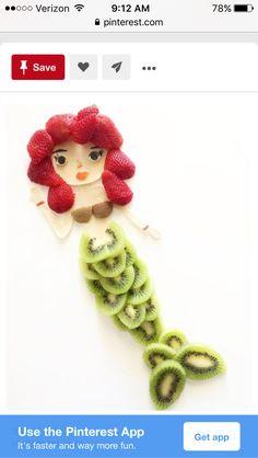 Mermaid fruit