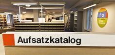 Yhden opiskeluaikojen kesän vietin harjoittelijana Stuttgartissa Kansainvälisten suhteiden isntituutin (Institut für Auslandsbeziehungen) kirjastossa.