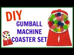 Gumball Coasters | DIY Project | Another Coaster Friday | Craft Klatch | How To - YouTube