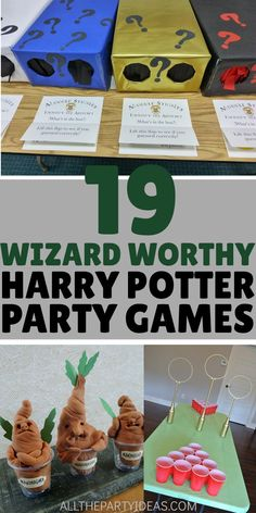 harry-potter-party-games-for-kids-teen-adult-birthdays-for-boys-and-girls-halloween-baby-shower-wedding-and-other-festive-fun-diy-activities-c/ SULTANGAZI SEARCH Baby Harry Potter, Harry Potter Baby Shower, Harry Potter Enfants, Harry Potter Motto Party, Harry Potter Fiesta, Harry Potter Party Games, Harry Potter Party Decorations, Harry Potter Halloween Party, Harry Potter Birthday