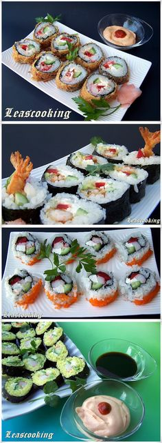 How to Make Fried Sushi....maybe I will be brave and try my hand at sushi for ken