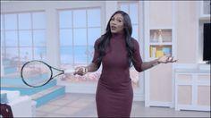 73の質問 テニス選手セリーナウィリアムズ勝利のダンス試合前の習慣真の美しさとは