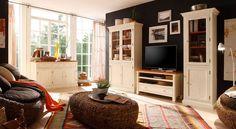 San Francisco- bílý nábytek do obývacího pokoje
