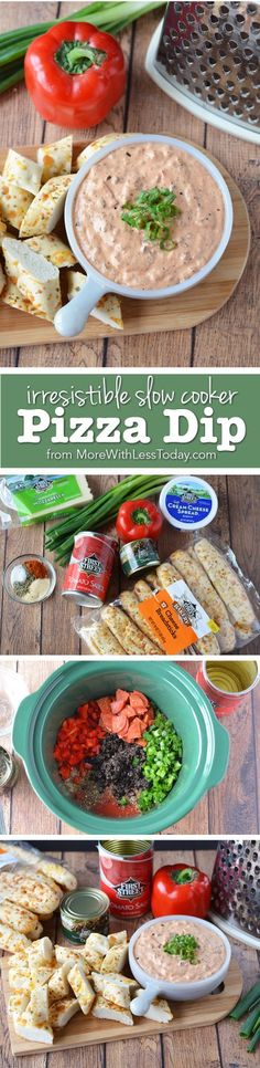 Are you ready to party on Sunday? No party is complete without this Irresistible Slow Cooker Pepperoni Pizza Dip. Pick up everything you need at your local Smart & Final to make this recipe. #ad #GameDayGrub