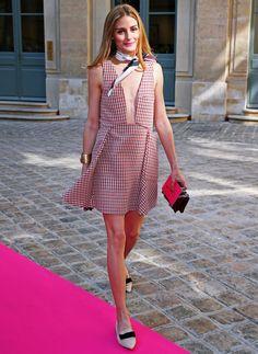 The Olivia Palermo Lookbook : Paris Couture Week 2015 : Olivia Palermo at Schiaparelli