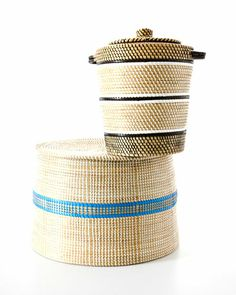 Binky Newman of Design Afrika partners with traditional basketmakers to develop winsome home accessories