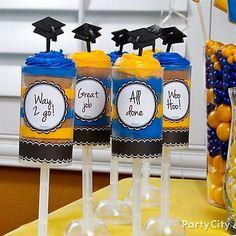 School Colors Graduation Ideas Gallery - Part y City  Graduation Party Ideas #DTGraduationParty