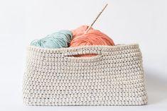 Patrón gratuito: Teje una cesta de algodón | The Blog - ES