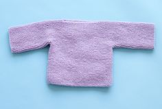 One Piece Baby Pullover Pattern (Knit)