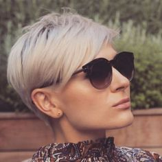 Today we have the most stylish 86 Cute Short Pixie Haircuts. Pixie haircut, of course, offers a lot of options for the hair of the ladies'… Continue Reading → Short Grey Hair, Short Hair Cuts, Short Hair Styles, Pixie Haircut For Thick Hair, Short Pixie Haircuts, Latest Short Hairstyles, Everyday Hairstyles, Undercut Hairstyles, Pixie Hairstyles