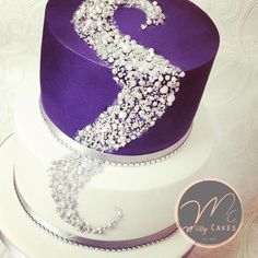 Selection of Edible beaded cakes by Missyclairescakes - http://cakesdecor.com/cakes/277591-selection-of-edible-beaded-cakes