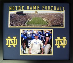 Photos Learned Brian Kelly Notre Dame Fighting Irish Football Coach Signed 8x10 Photo Sports Mem, Cards & Fan Shop