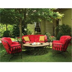 This Collection Offers Some of the Deepest Cushions Available On the Patio Furniture Market