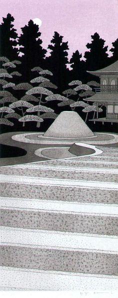 Katō Teruhide, Moon-viewing Platform at Ginkakuji