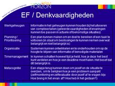 executieve functies: denkvaardigheden Learning Tips, School Info, 21st Century Skills, Executive Functioning, Love My Job, Special Needs, Adhd, Coaching, Dyslexia